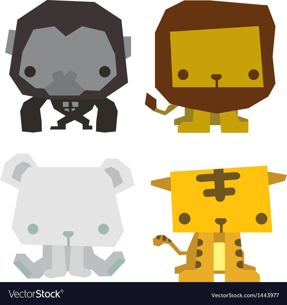 Cute animal vector | Price: 1 Credit (USD $1)
