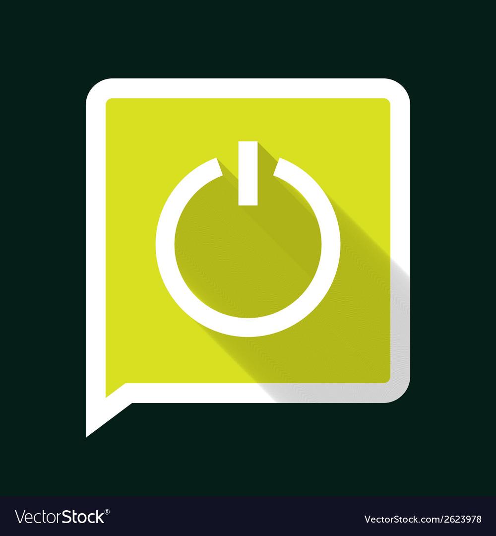 Powerlongshadow vector | Price: 1 Credit (USD $1)