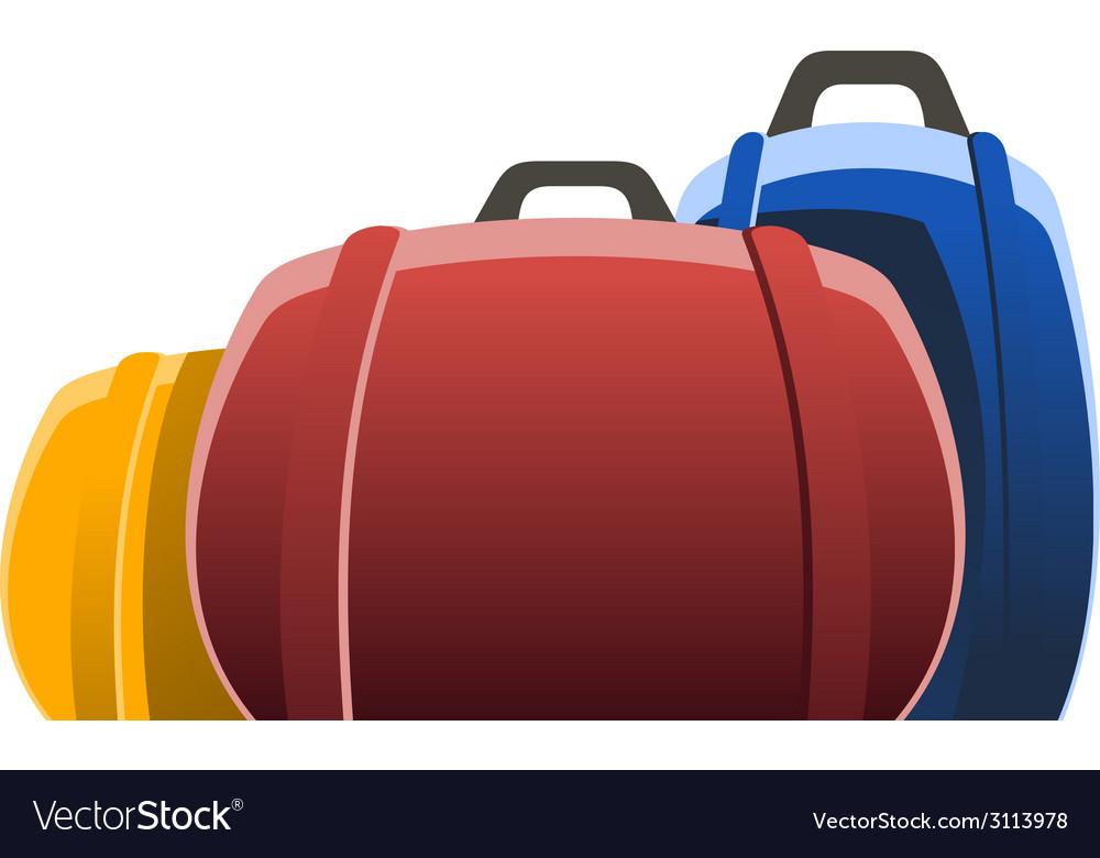 Three bags vector | Price: 1 Credit (USD $1)