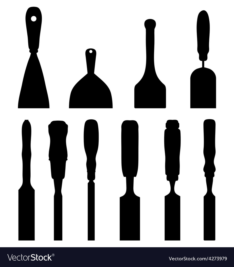 Chisels vector | Price: 1 Credit (USD $1)