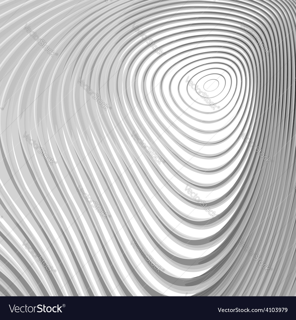 Design monochrome whirl circular motion background vector | Price: 1 Credit (USD $1)