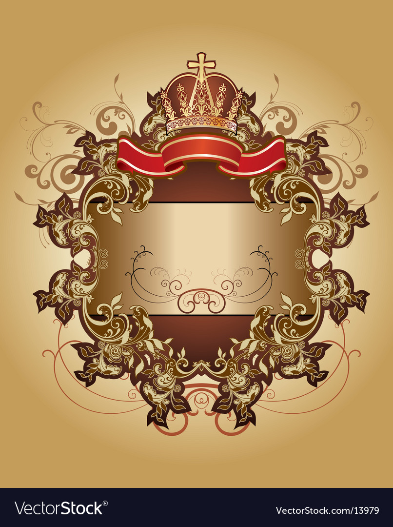 Heraldry graphic vector | Price: 3 Credit (USD $3)