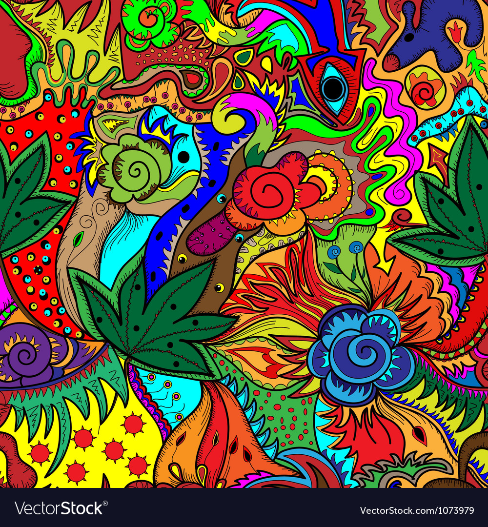 Multicolored abstract pattern vector | Price: 1 Credit (USD $1)