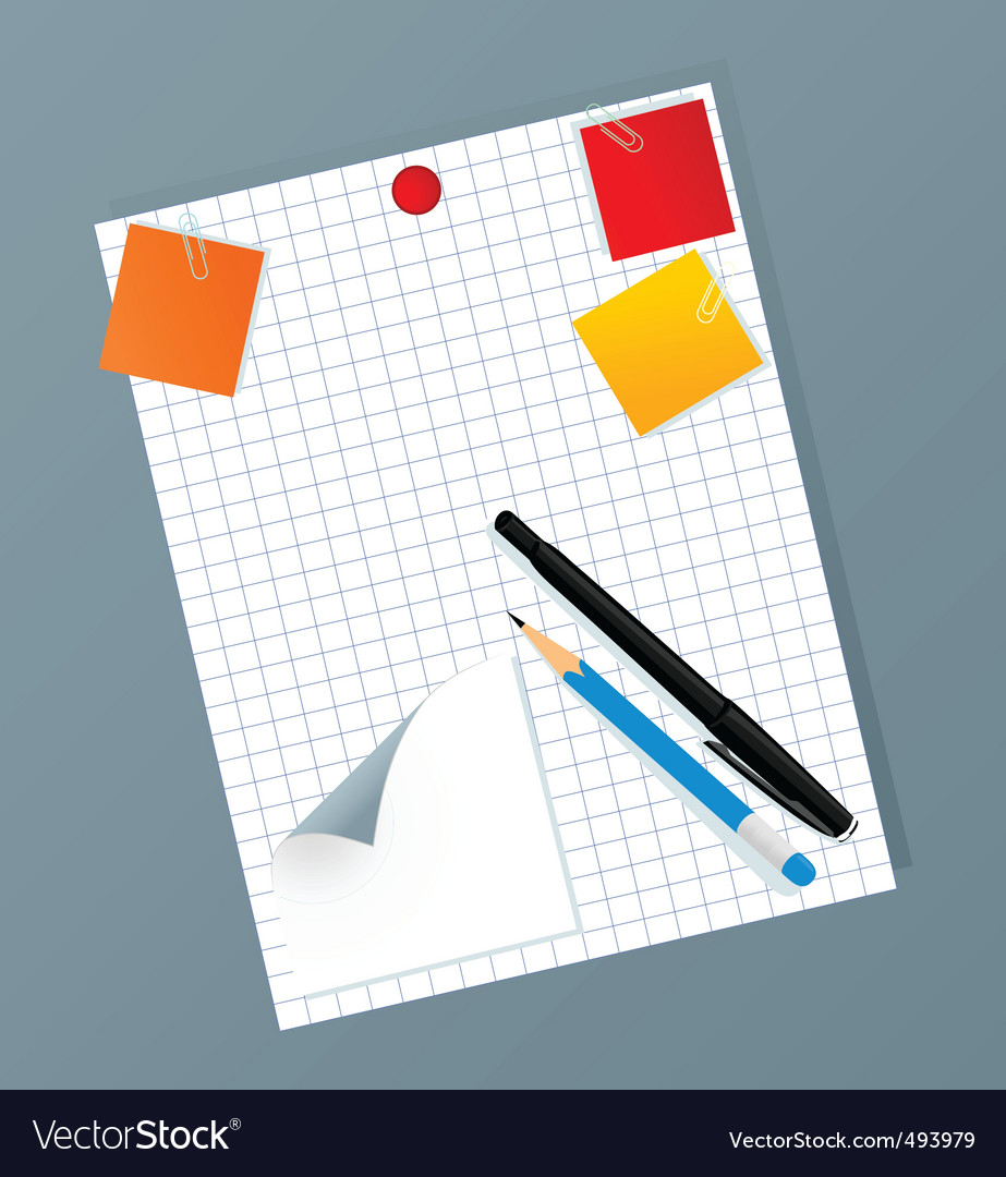 Office set2 vector | Price: 1 Credit (USD $1)