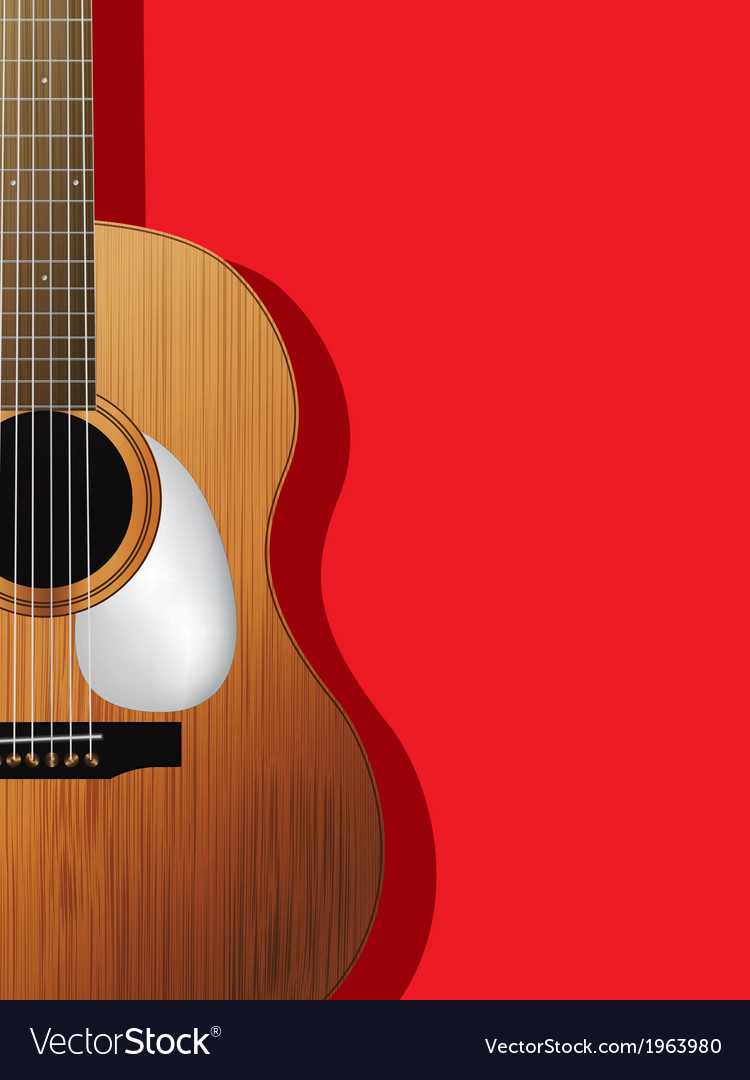 Guitar composition vector | Price: 1 Credit (USD $1)