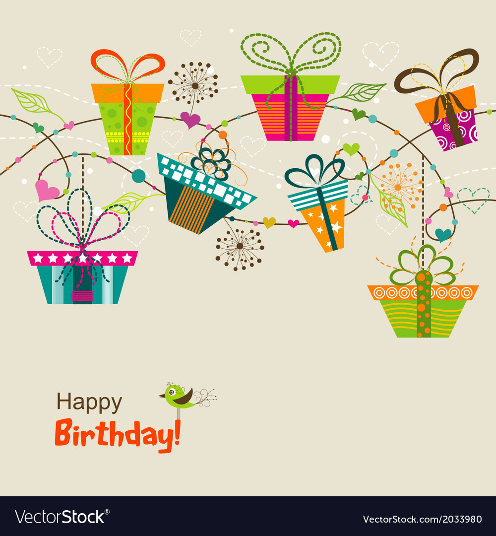 Itemplate greeting card vector | Price: 1 Credit (USD $1)
