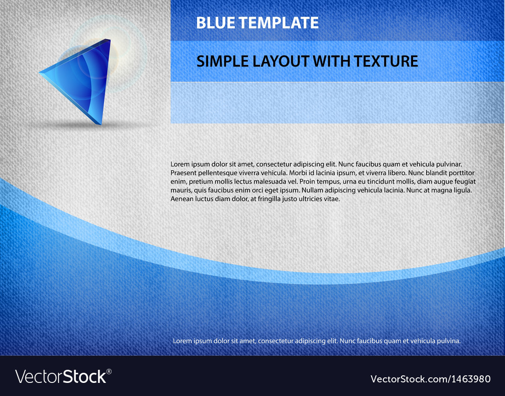 Template blue curve vector | Price: 1 Credit (USD $1)