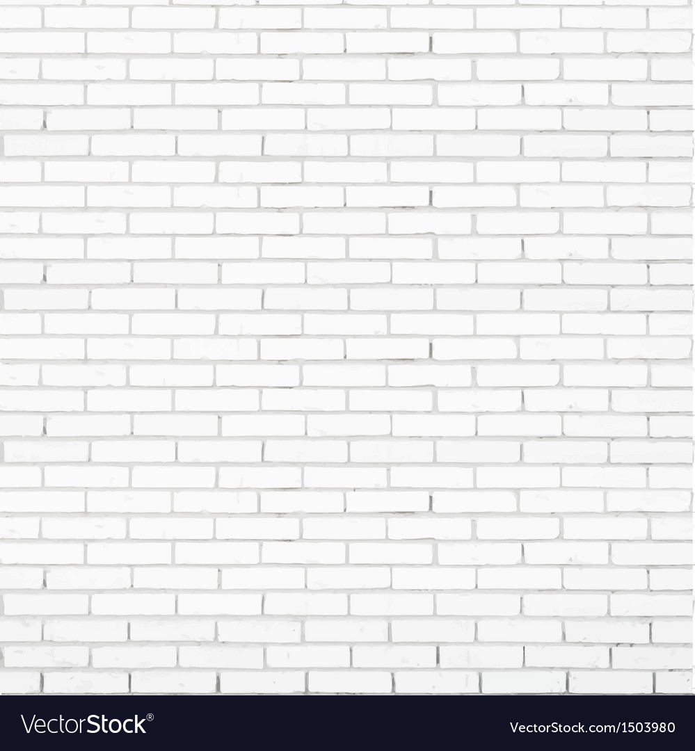White brick wall texture vector | Price: 1 Credit (USD $1)