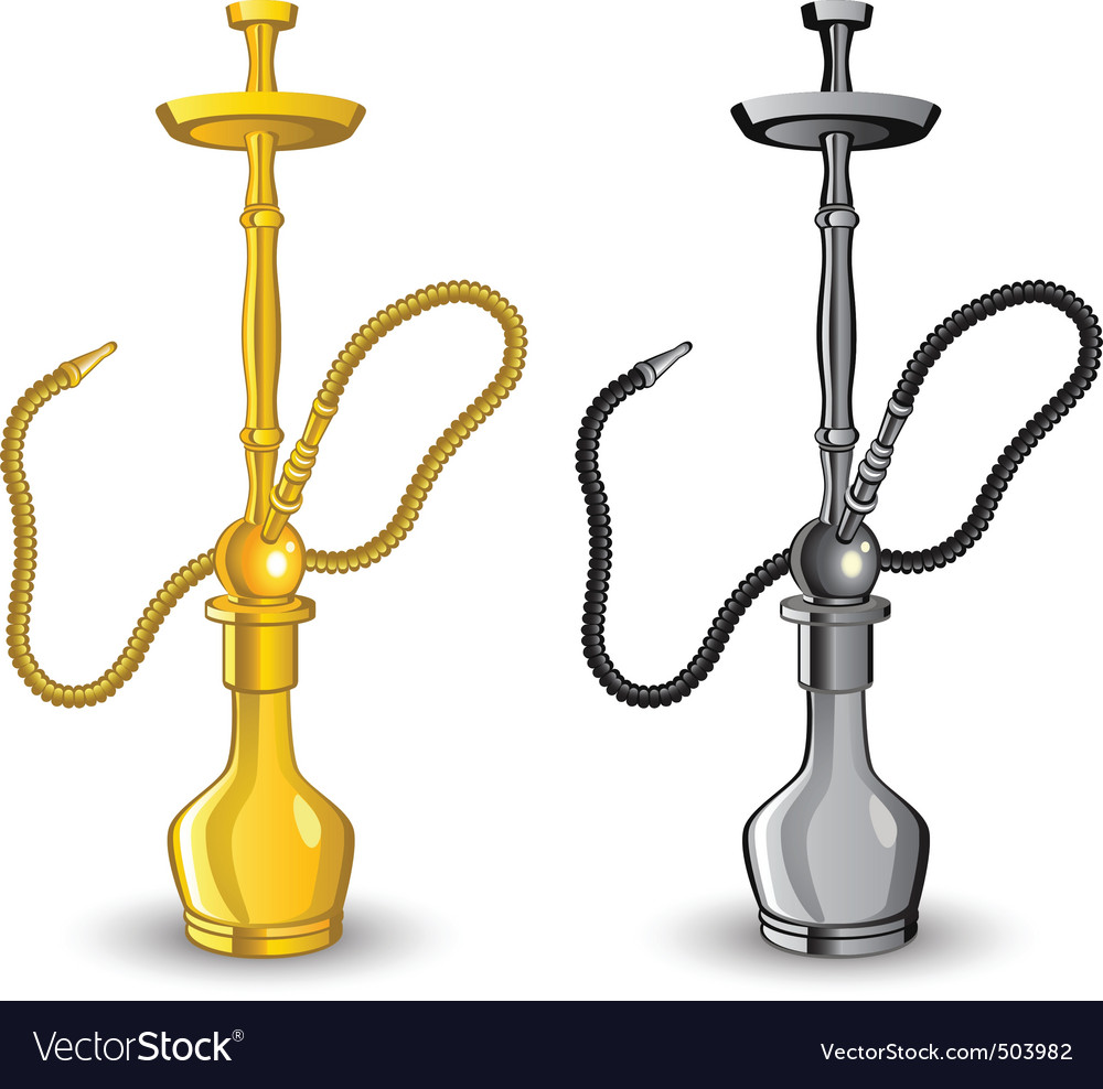 Hookah image vector | Price: 1 Credit (USD $1)