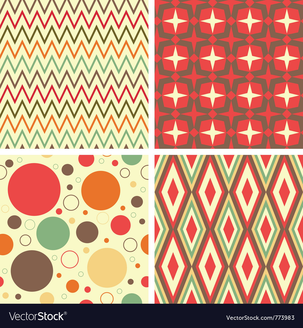 Abstract geometric pattern set vector | Price: 1 Credit (USD $1)