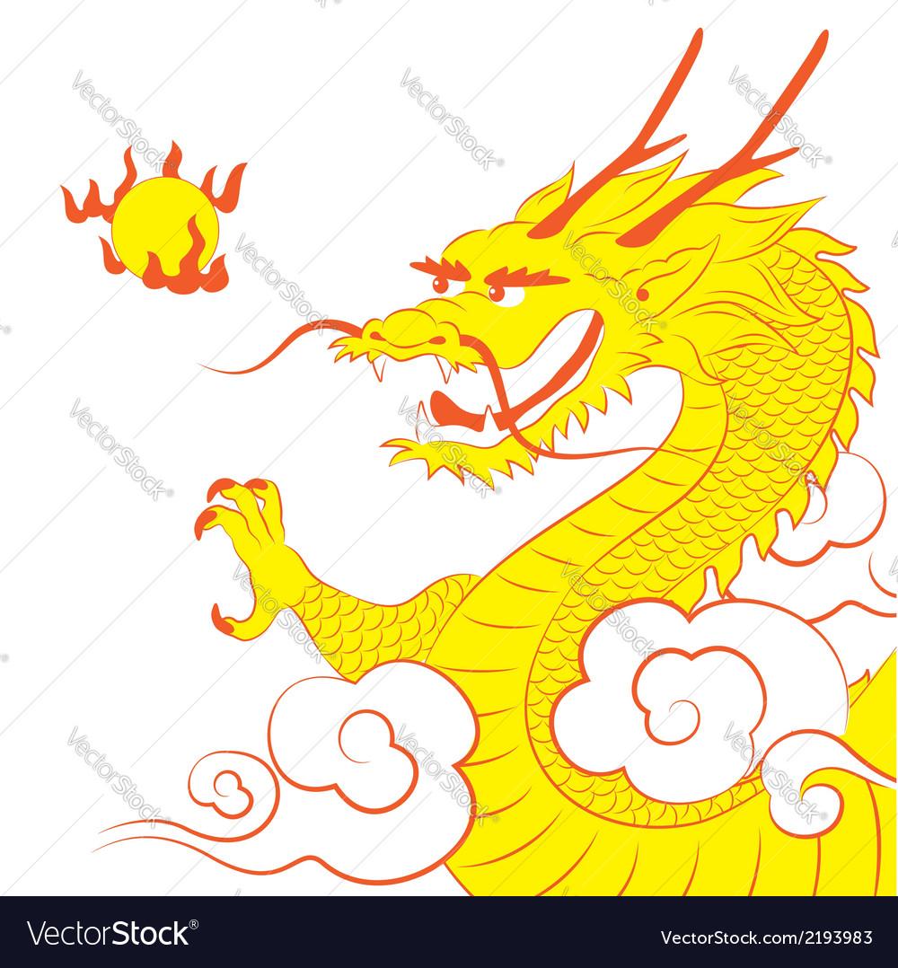Dragon vector | Price: 1 Credit (USD $1)