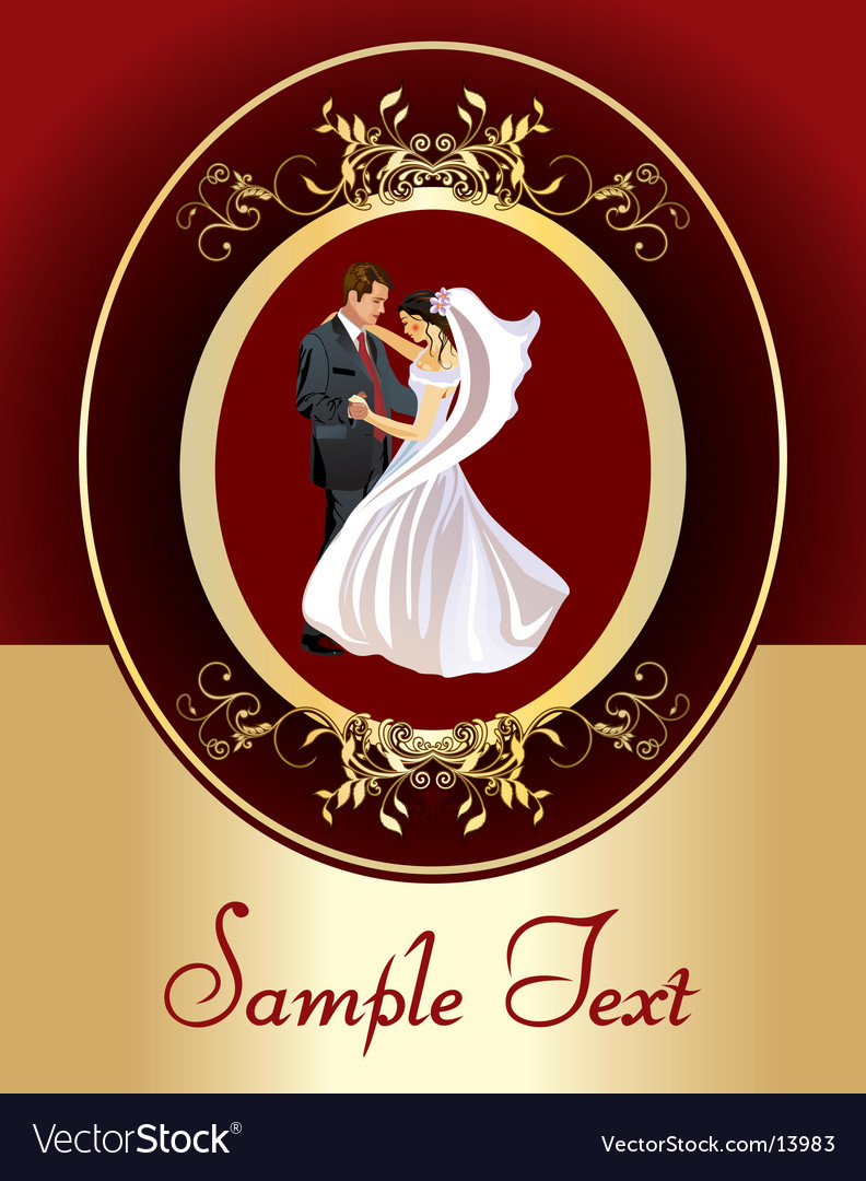 Wedding design vector | Price: 5 Credit (USD $5)
