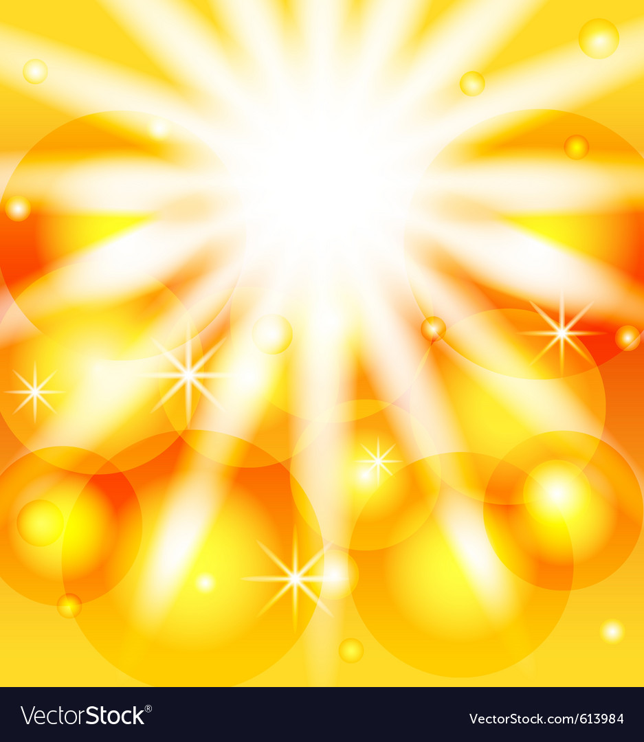 Abstract sunny background vector | Price: 1 Credit (USD $1)