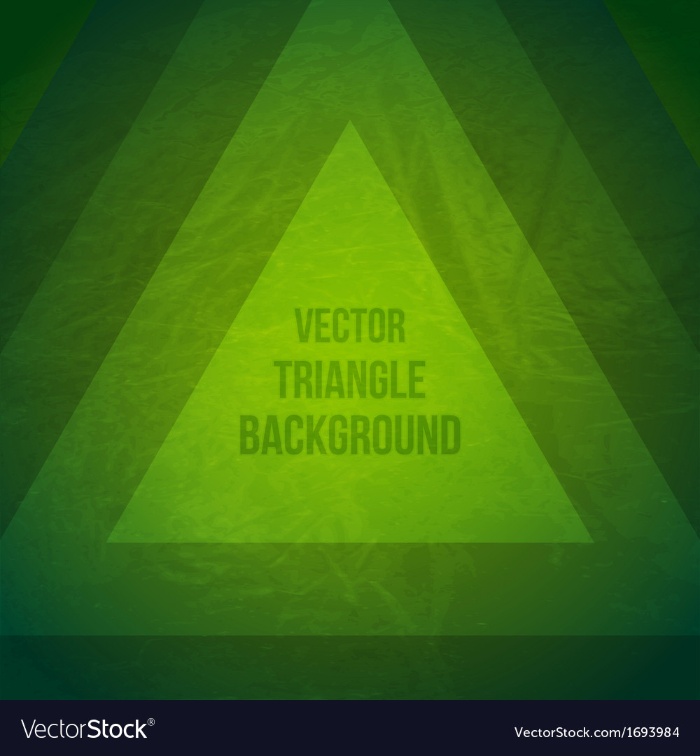 Geometric background hipster theme retro triangle vector | Price: 1 Credit (USD $1)