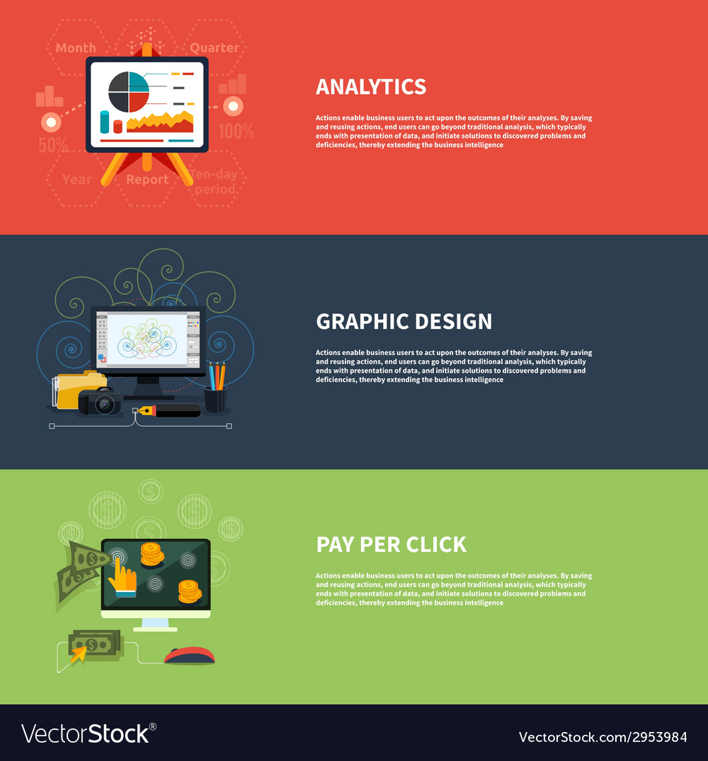 Icons for web design analytics graphic design and vector | Price: 1 Credit (USD $1)