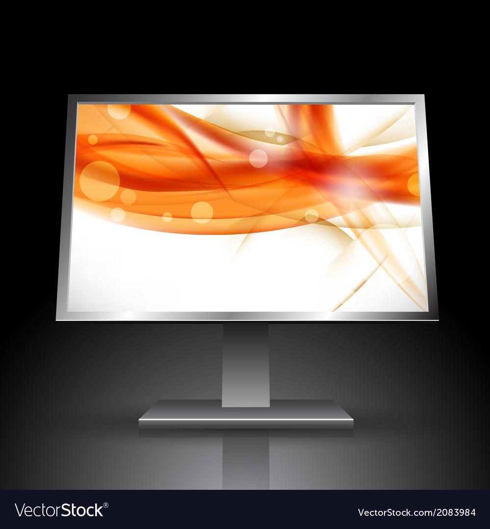 Monitor vector   Price: 1 Credit (USD $1)