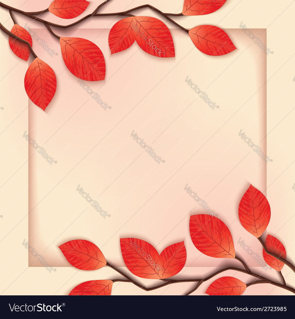 3d floral frame template vector | Price: 1 Credit (USD $1)