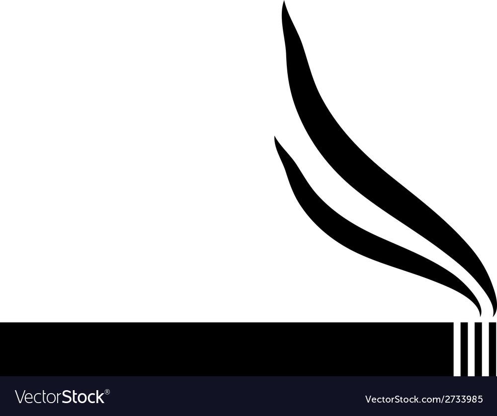 Cigarette icon vector   Price: 1 Credit (USD $1)