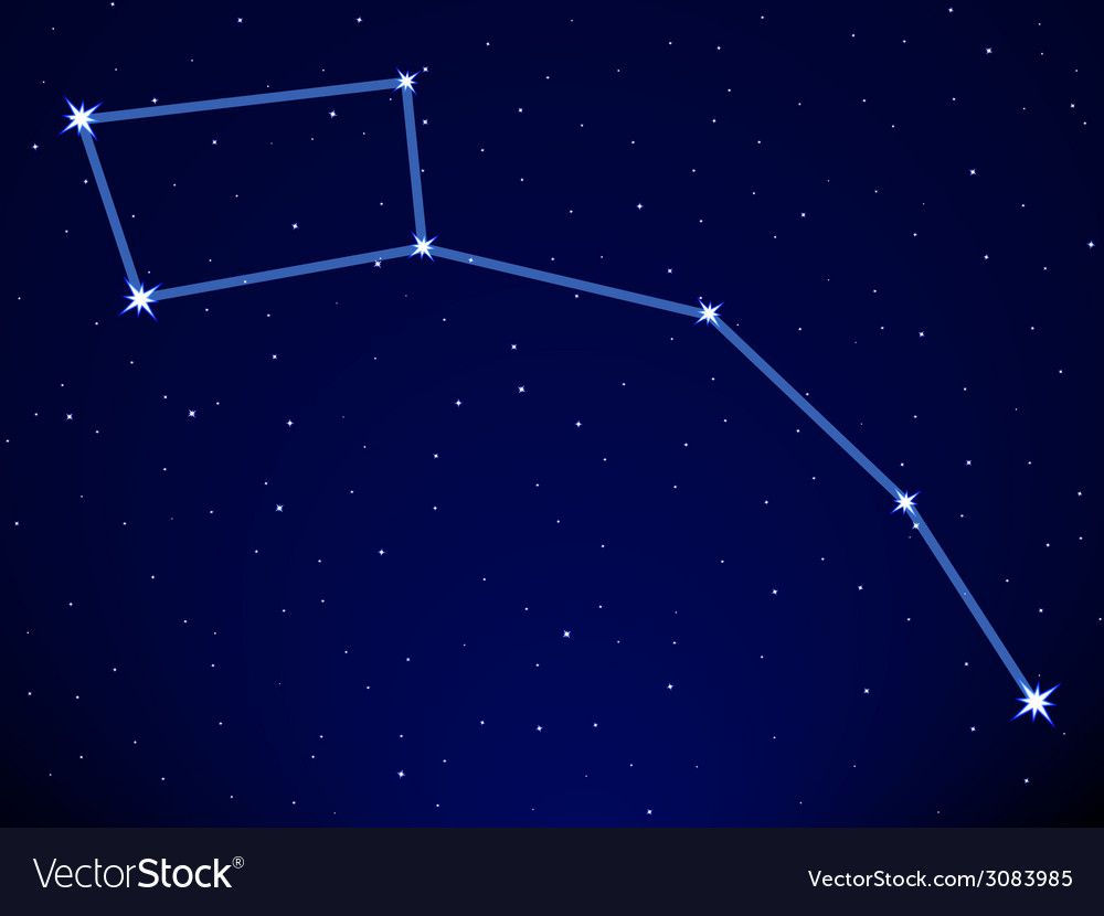 Little dipper vector | Price: 1 Credit (USD $1)