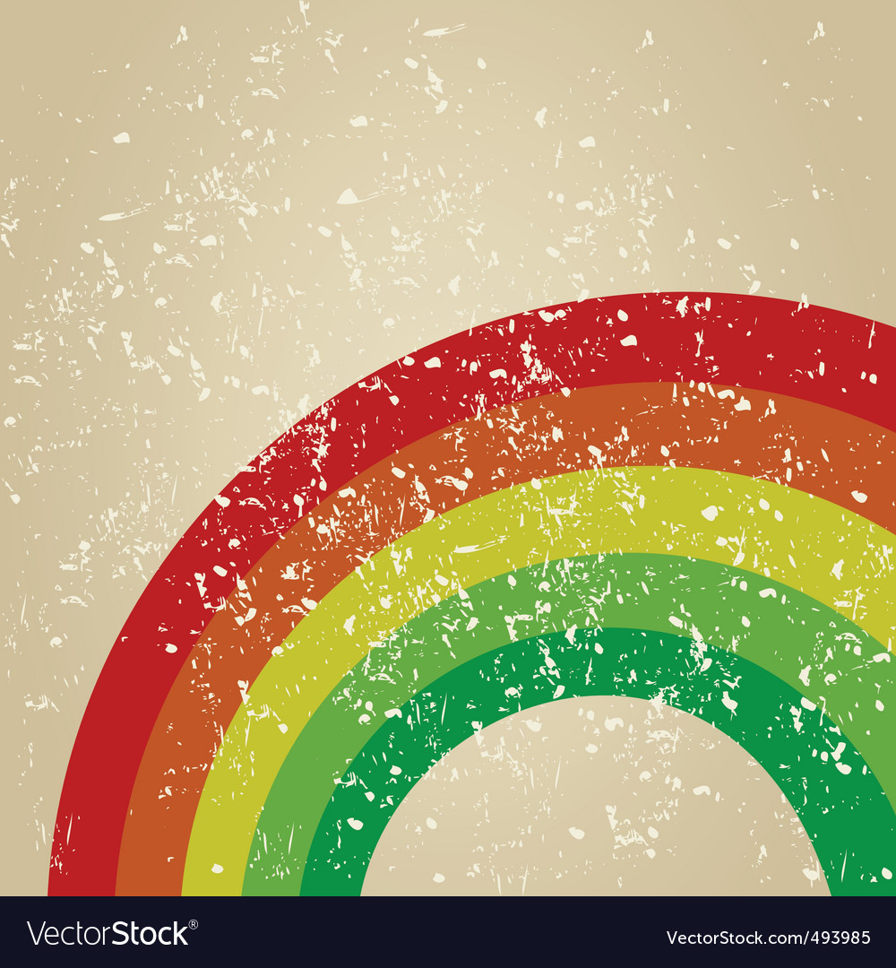 Retro rainbow vector | Price: 1 Credit (USD $1)