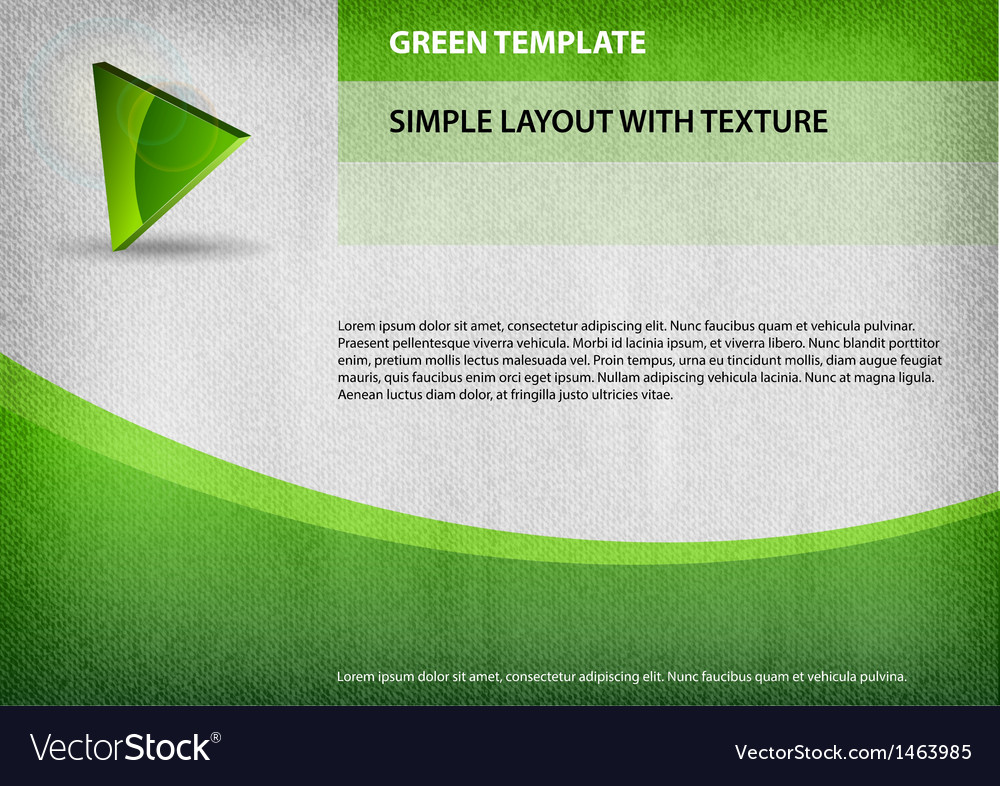 Template green curve vector | Price: 1 Credit (USD $1)