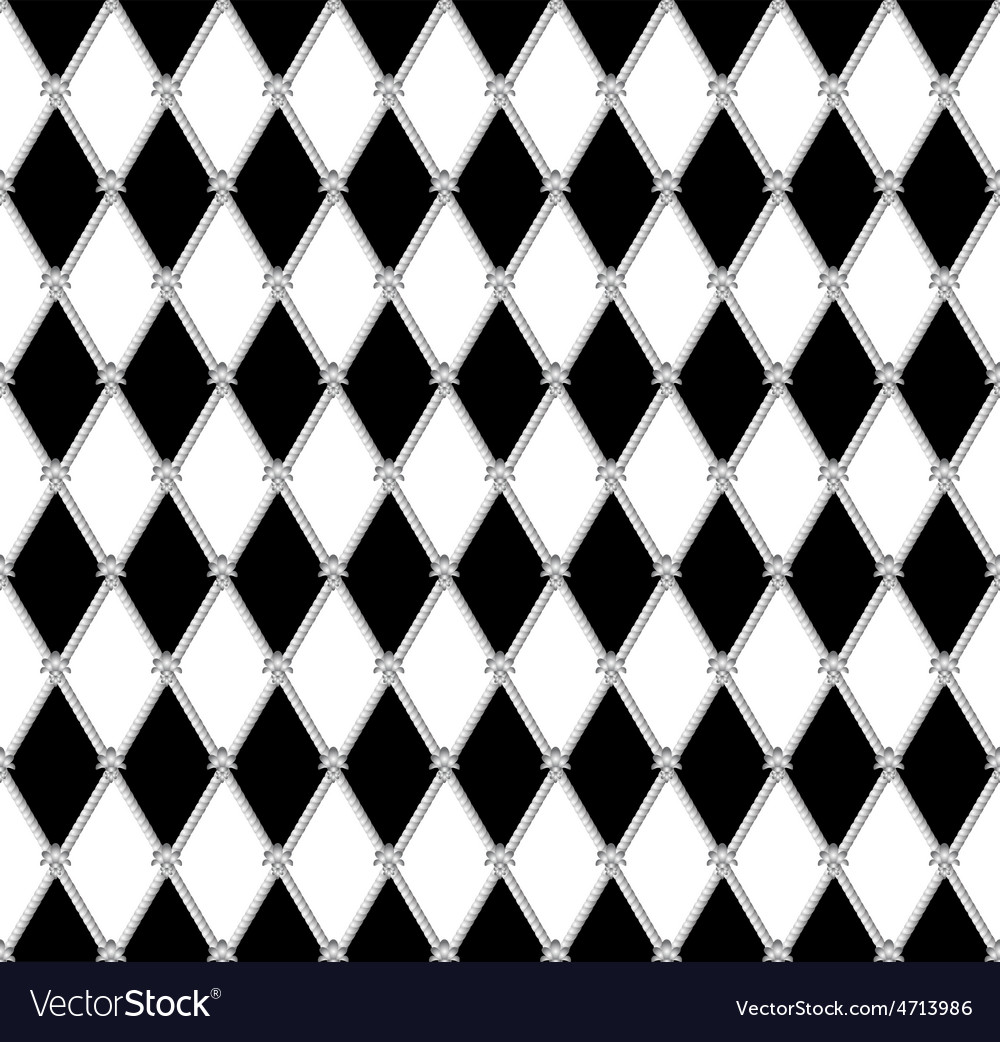 Black a white seamless background vector   Price: 1 Credit (USD $1)