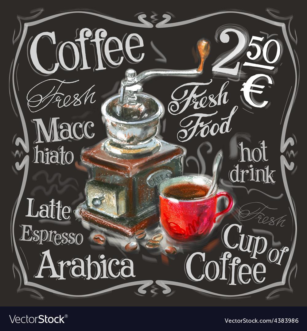 Coffee espresso logo design template vector | Price: 3 Credit (USD $3)