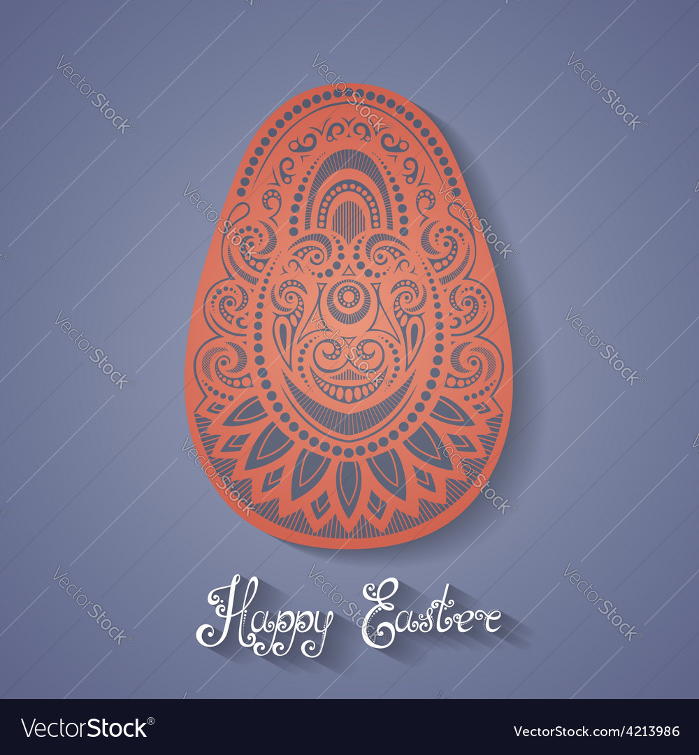 Easter holiday design vector | Price: 1 Credit (USD $1)