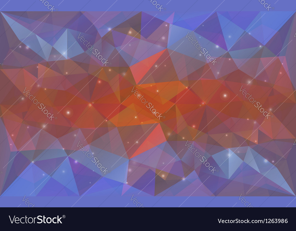 Triangular deepcolor texture vector | Price: 1 Credit (USD $1)