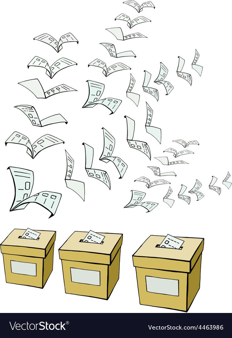 Vote or voting vector | Price: 1 Credit (USD $1)
