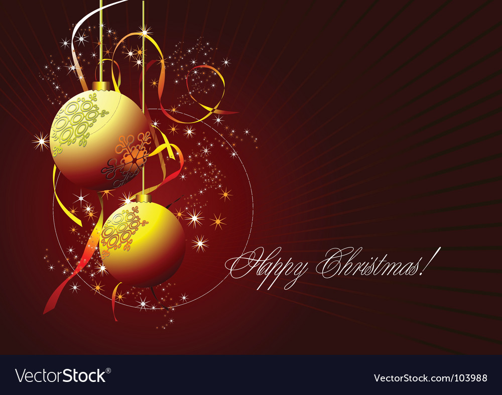 Happy christmas vector | Price: 1 Credit (USD $1)