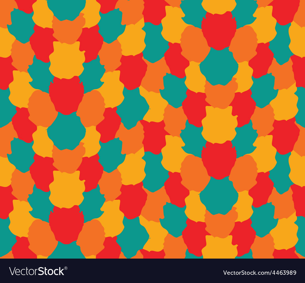 Colorful blots pattern vector | Price: 1 Credit (USD $1)
