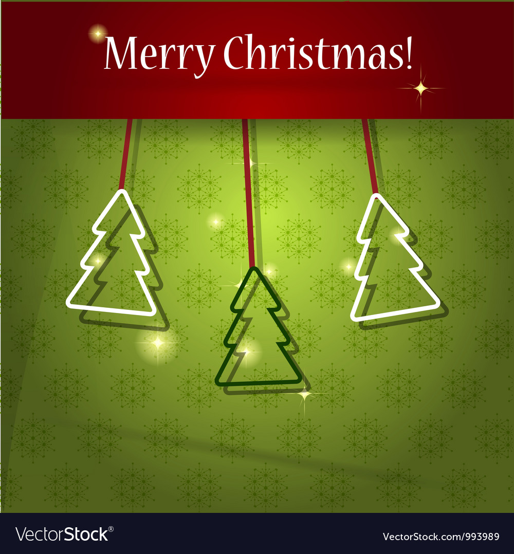 Paper christmas tree vector   Price: 1 Credit (USD $1)