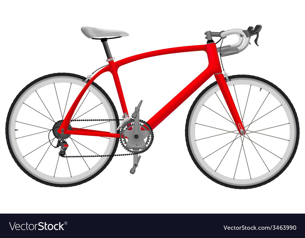 Road racing bike vector | Price: 1 Credit (USD $1)