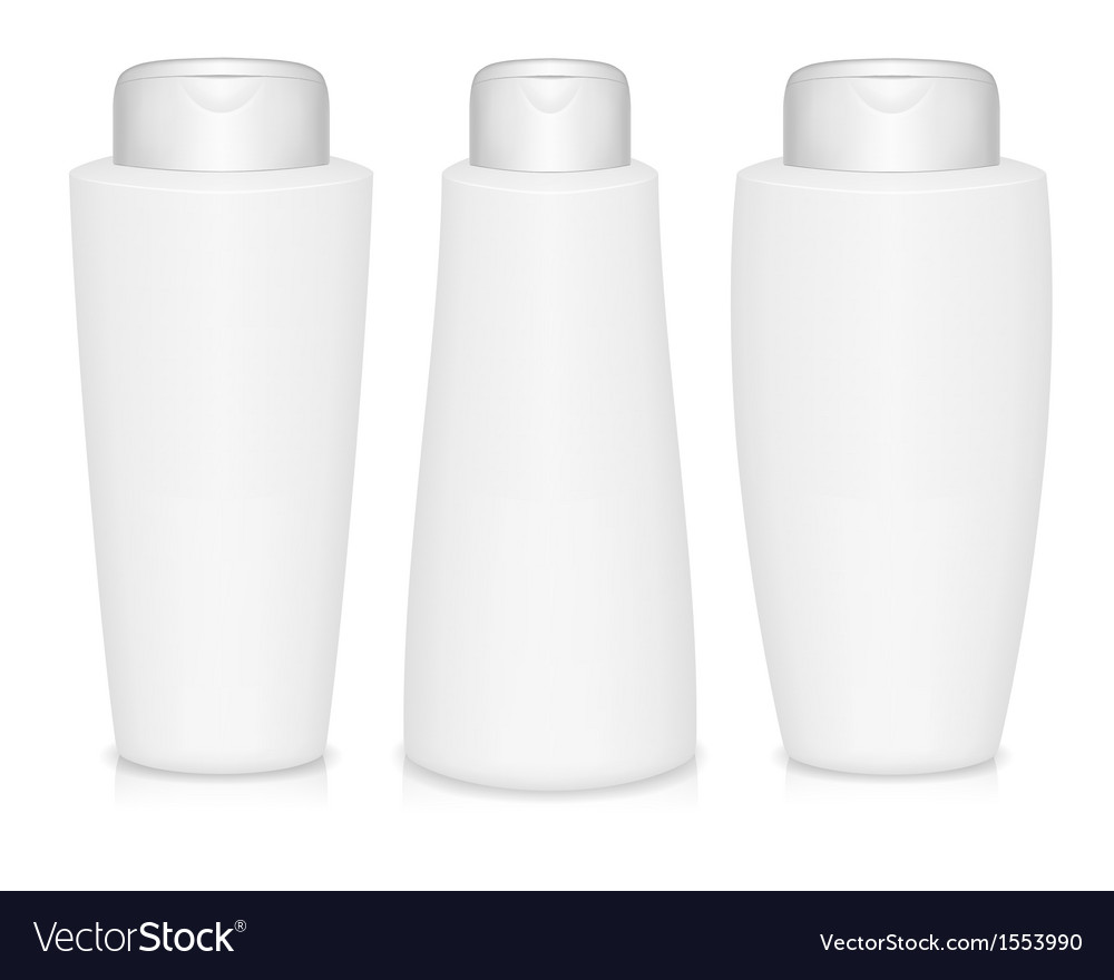Shampoo bottles vector | Price: 1 Credit (USD $1)