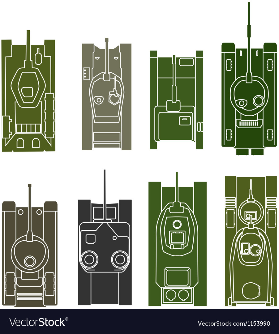 Tank collection vector | Price: 1 Credit (USD $1)