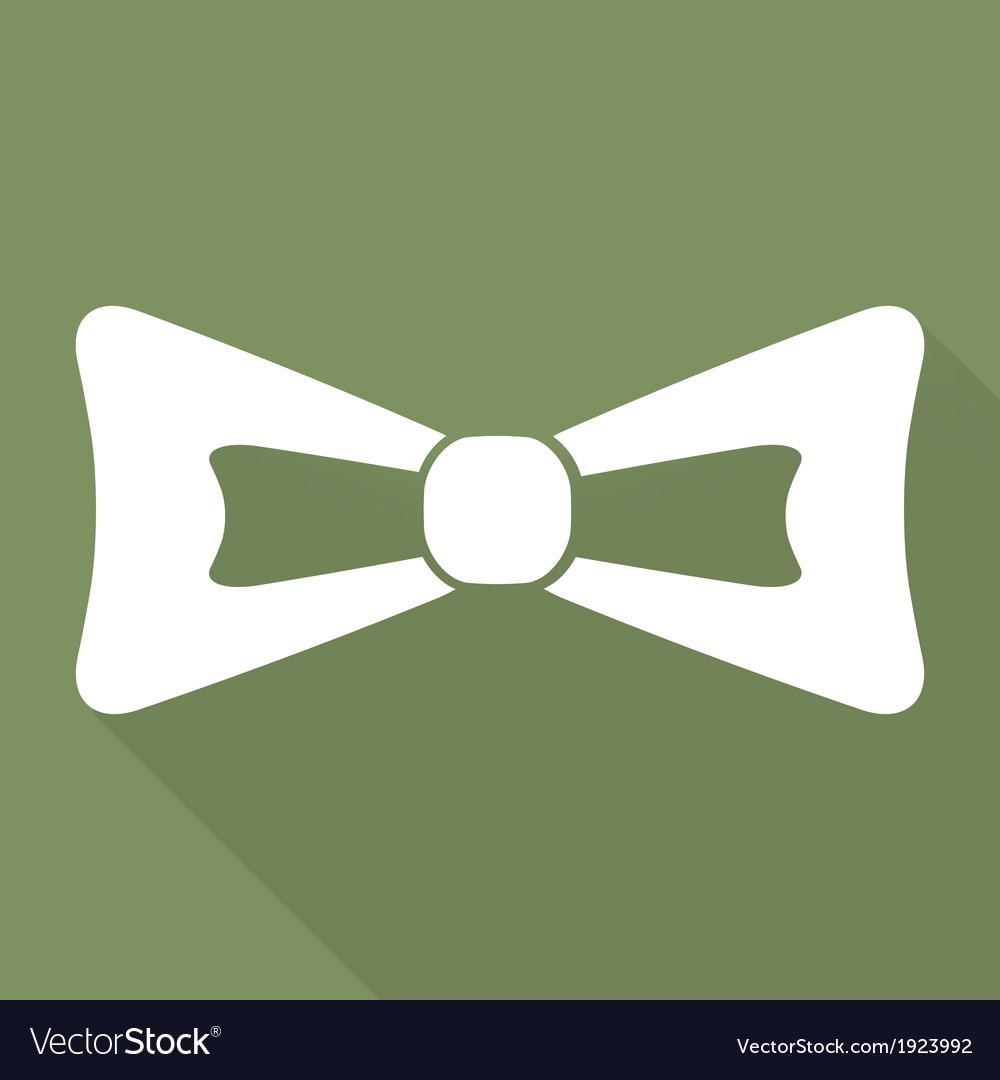 Bow tie icon vector | Price: 1 Credit (USD $1)