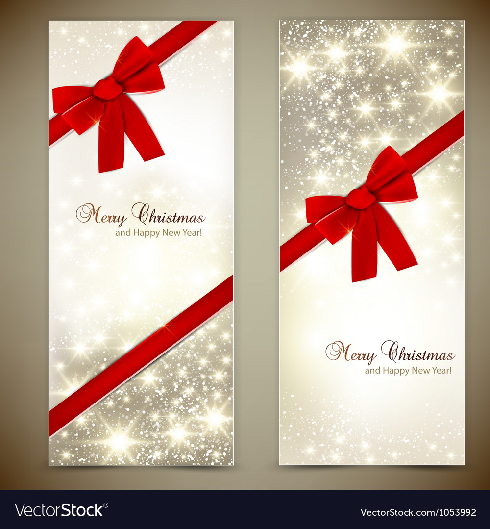 Christmas cards template vector | Price: 1 Credit (USD $1)