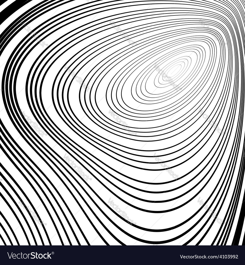 Design monochrome ellipse movement background vector | Price: 1 Credit (USD $1)