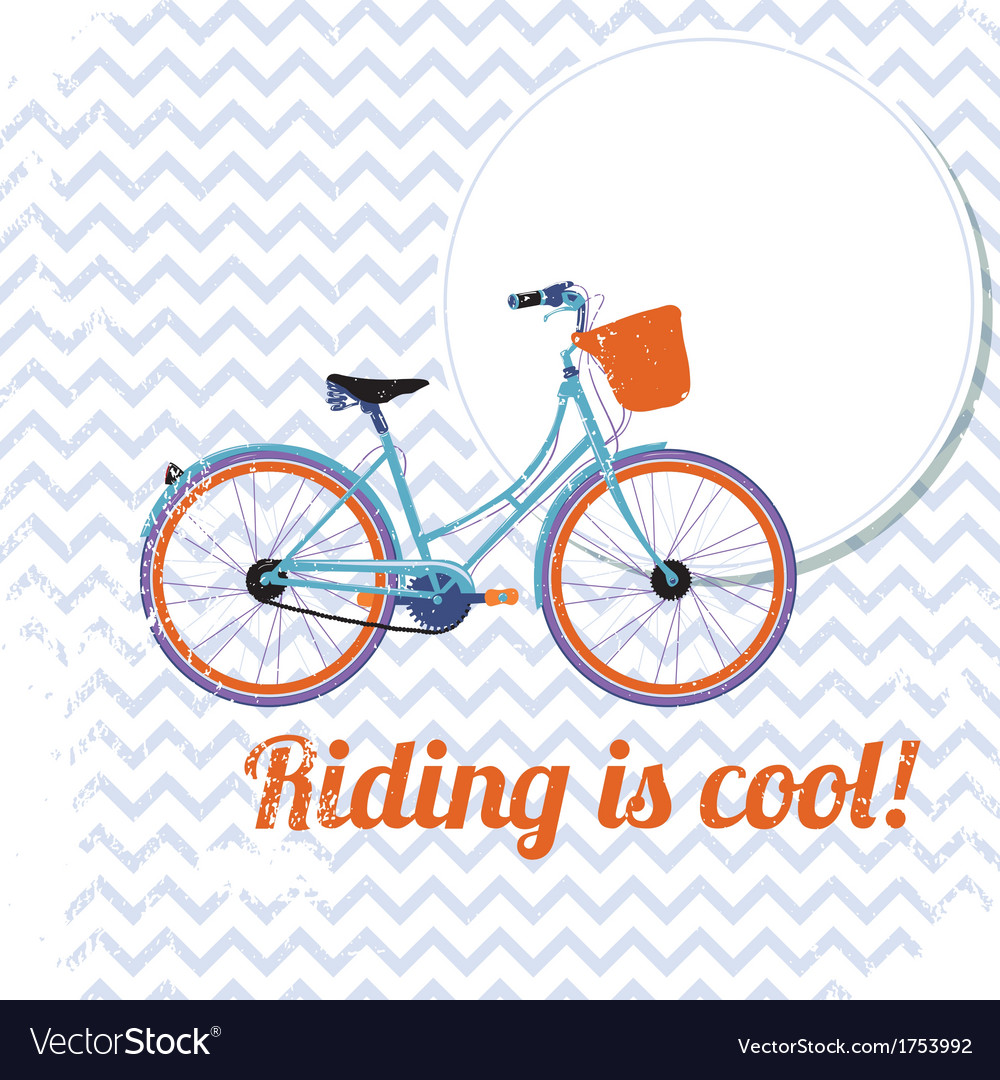 Riding is cool vector   Price: 1 Credit (USD $1)