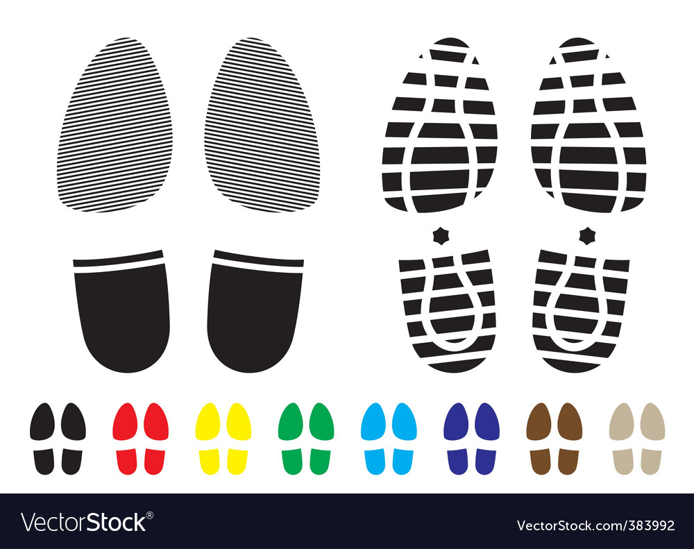 Shoe pattern vector | Price: 1 Credit (USD $1)