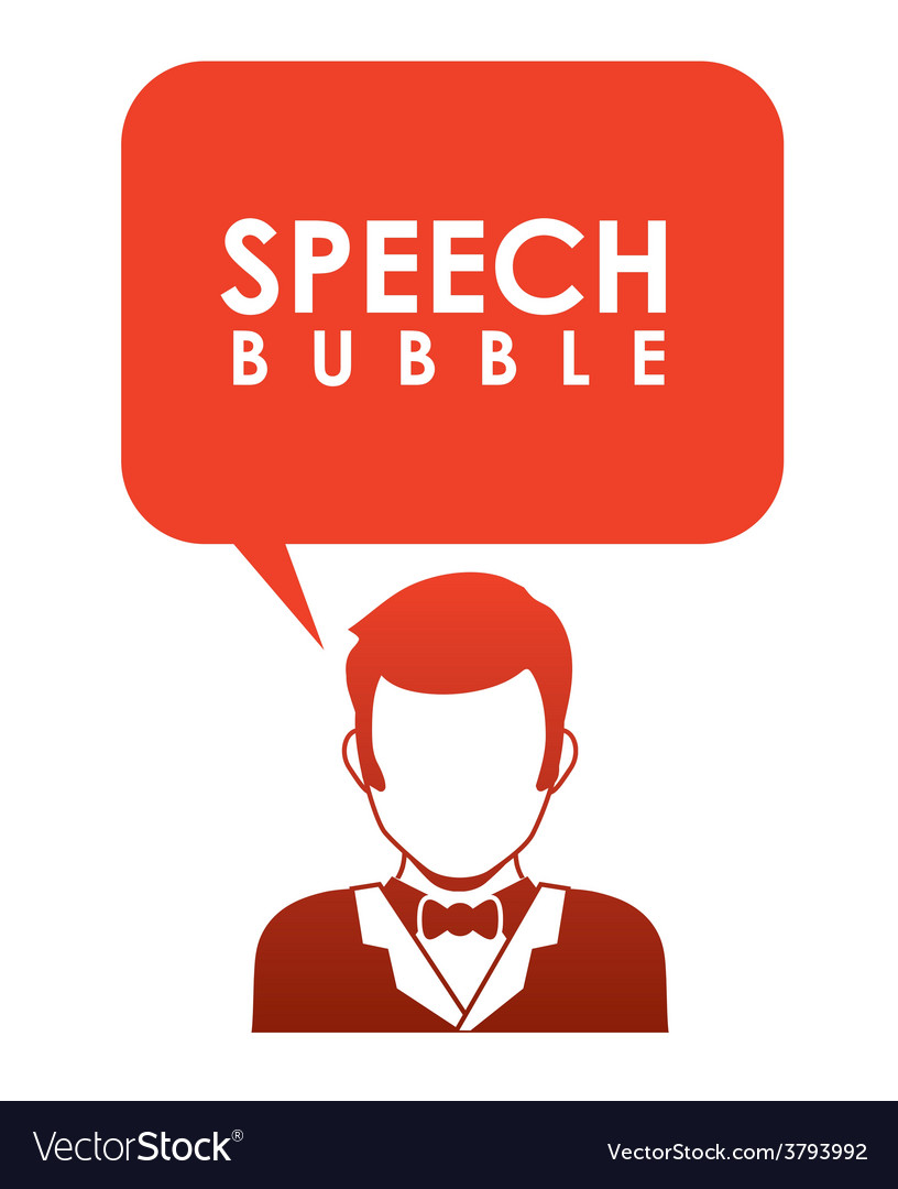 Speech bubbles communication vector | Price: 1 Credit (USD $1)