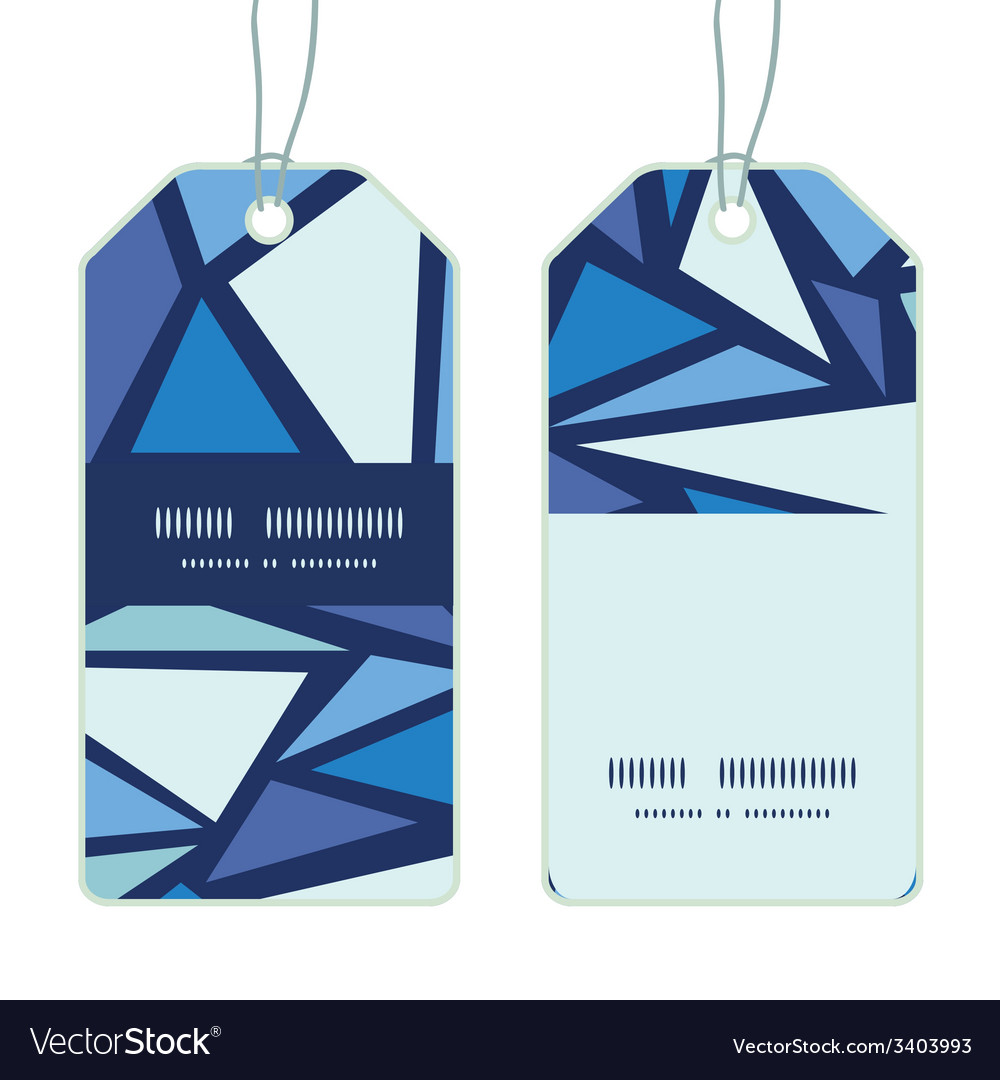 Abstract ice chrystals vertical stripe frame vector   Price: 1 Credit (USD $1)