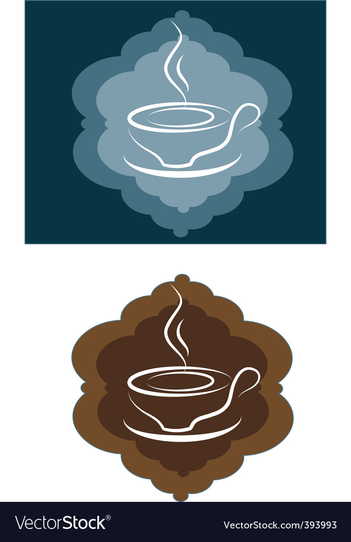 Coffee cup vector | Price: 1 Credit (USD $1)