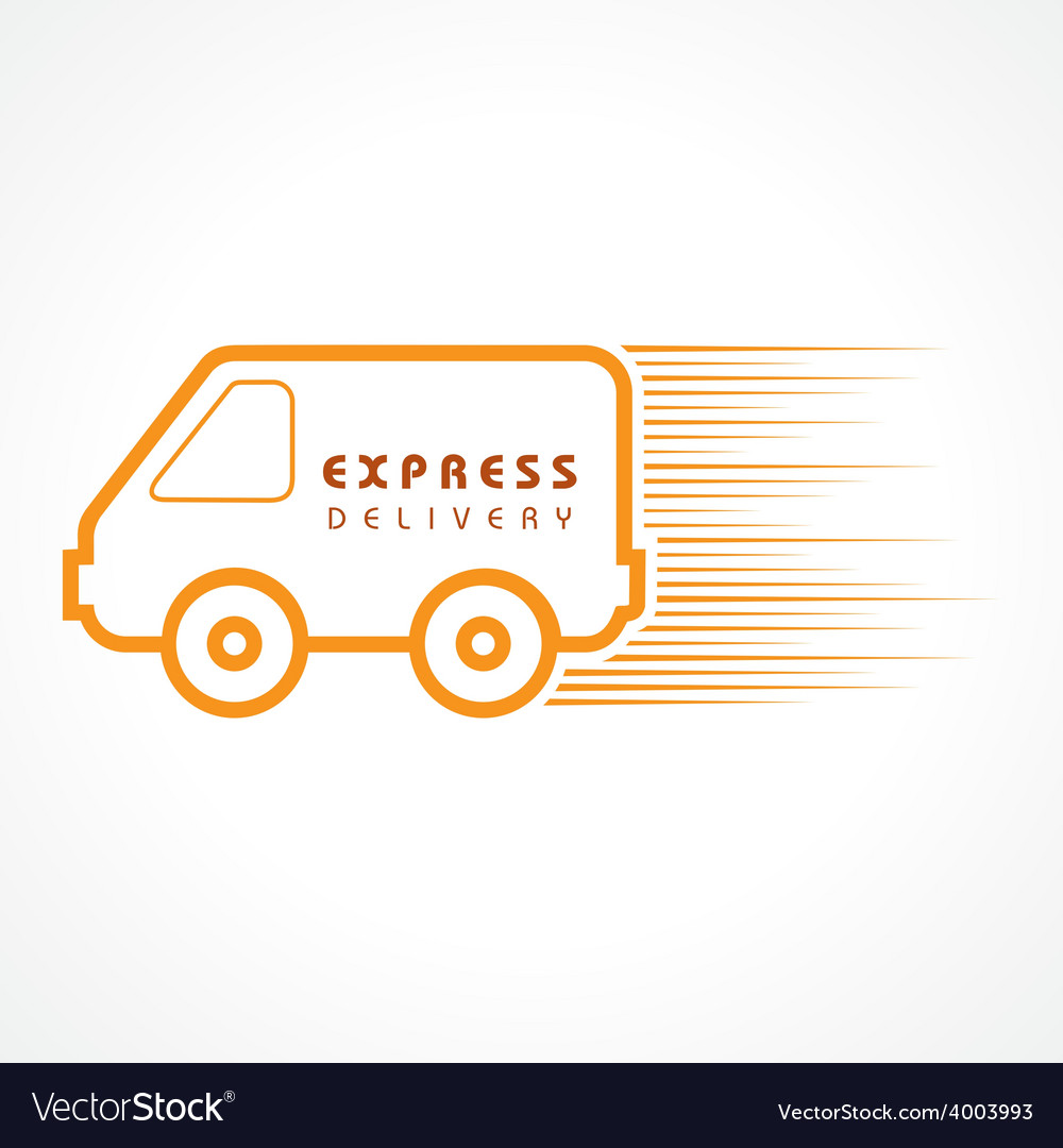 Express delivery concept for increase the sell sto vector | Price: 1 Credit (USD $1)