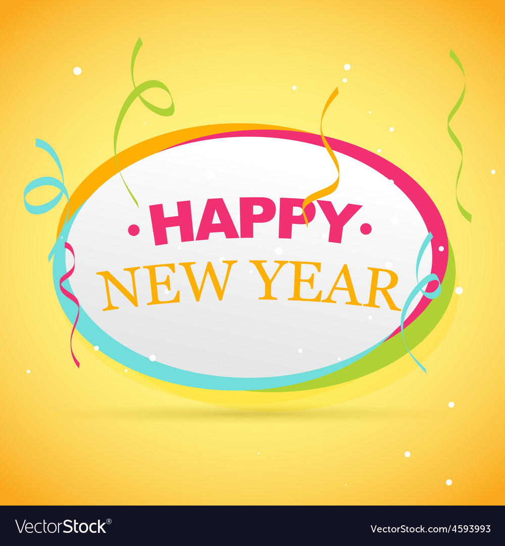 New year celebration vector | Price: 1 Credit (USD $1)
