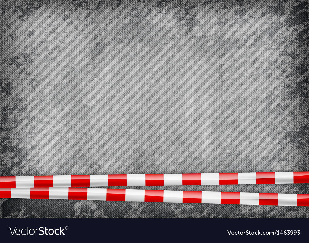 Texture grain grey with red tape vector | Price: 1 Credit (USD $1)
