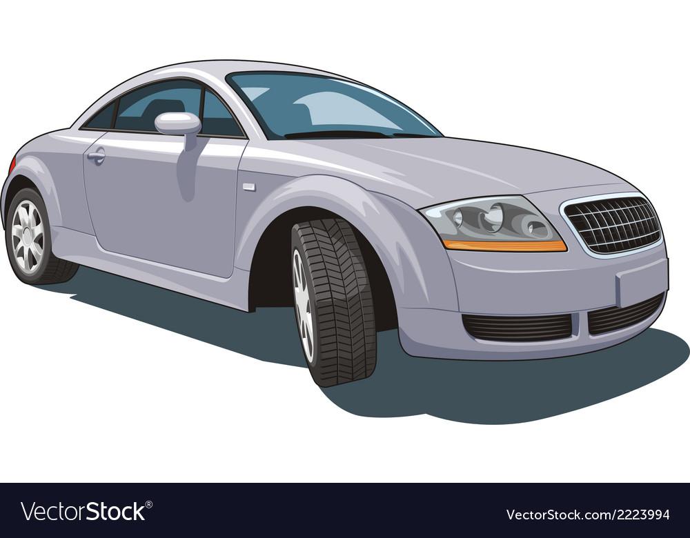 Modern car vector | Price: 3 Credit (USD $3)