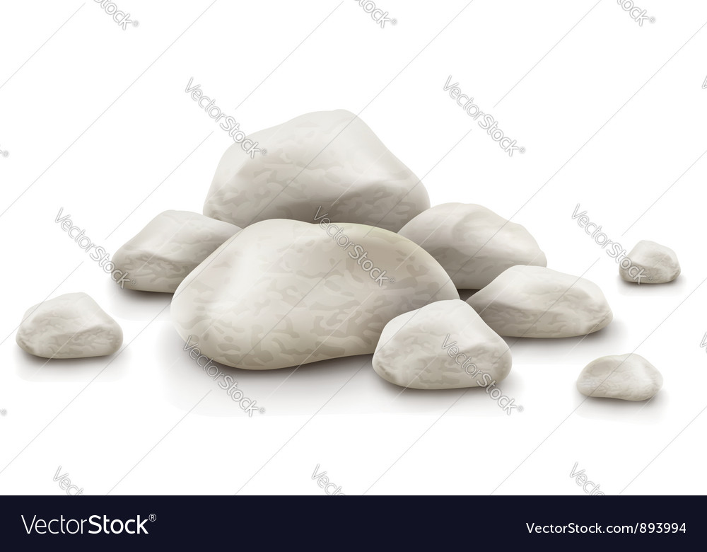 Pile of stones vector | Price: 1 Credit (USD $1)