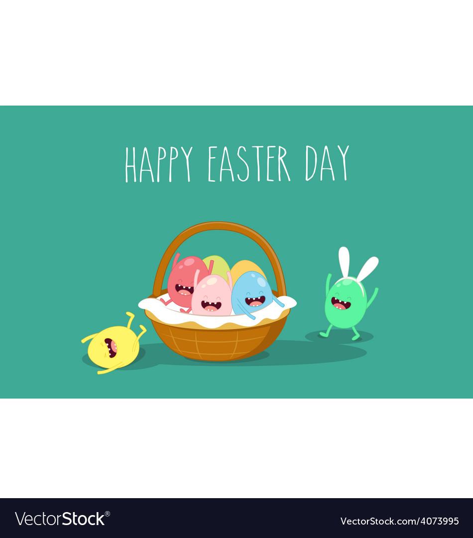 Easter basket vector | Price: 1 Credit (USD $1)